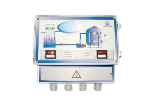 Панель управления переливной емкостью и системой автоматического долива