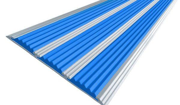 Алюминиевая полоса с тремя вставками 100 мм/5,6 мм