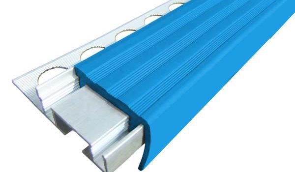Алюминиевый закладной профиль ALPB с одним закладным элементом