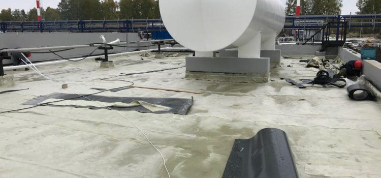 Устройство гидроизоляции на топливозаправочном комплексе, Шагол, Челябинская область