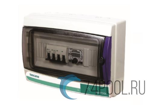 Панель управления фильтрацией Toscano ECO-POOL-400 (380В) с таймером