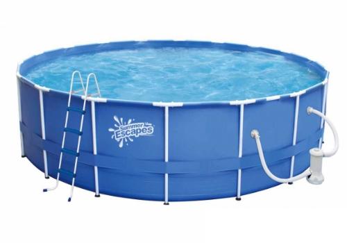 Купить каркасный бассейн фирмы Polygroup в Челябинске