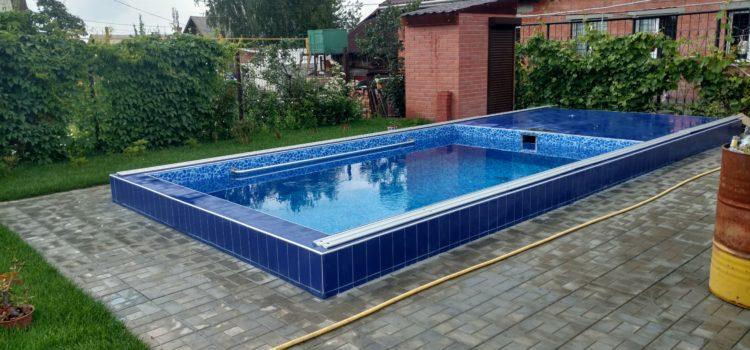 Процесс строительства частного бассейна в Челябинске