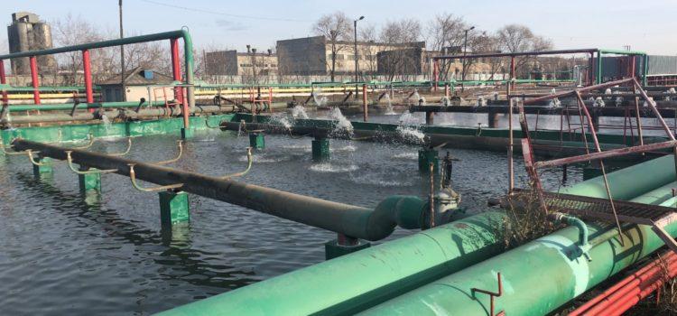 Брызгальный бассейн, для охлаждения технической воды на заводе ЧТПЗ